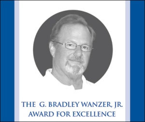 G. Bradley Wanzer Jr. Award For Excellence